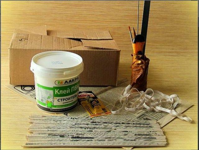 Материалы для плетения домика